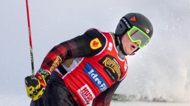 Canada's Reece Howden races to ski cross World Cup silver