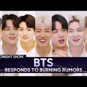 bts return to the tonight show to talk rumors perform permission to dance and more