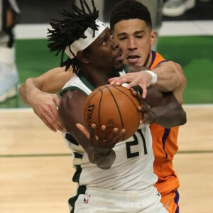 game 4 referee acknowledges suns devin booker should have fouled out after hacking bucks jrue holiday