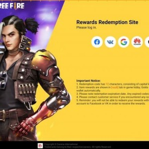 garena free fire redeem codes and rewards released this month so far
