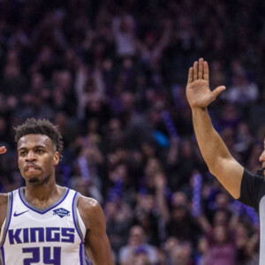 lakers kings have discussed buddy hield trade involving kyle kuzma