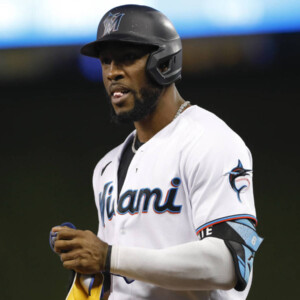 marlins trade two time gold glove of starling marte to as