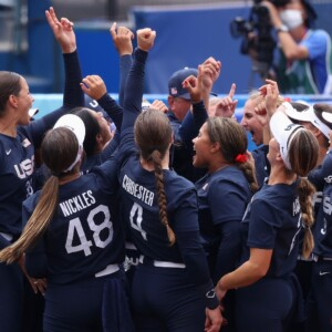 usa vs japan softball time channel tv schedule to watch 2021 olympic gold medal game