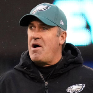 doug pederson spotted working at bears camp