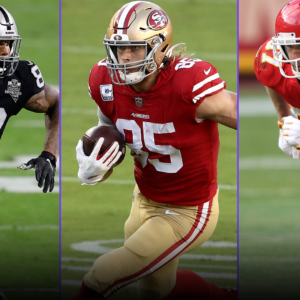 top tier tight ends should travis kelce be a first round fantasy pick is george kittle or darren waller the no 2 te