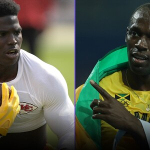 tyreek hill vs usain bolt are we one step closer to a showdown