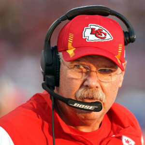 andy reid leaves stadium in ambulance as precaution after falling ill