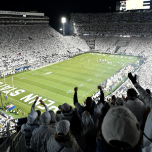 penn states white out games explained how stroke of genius became one of college footballs best traditions